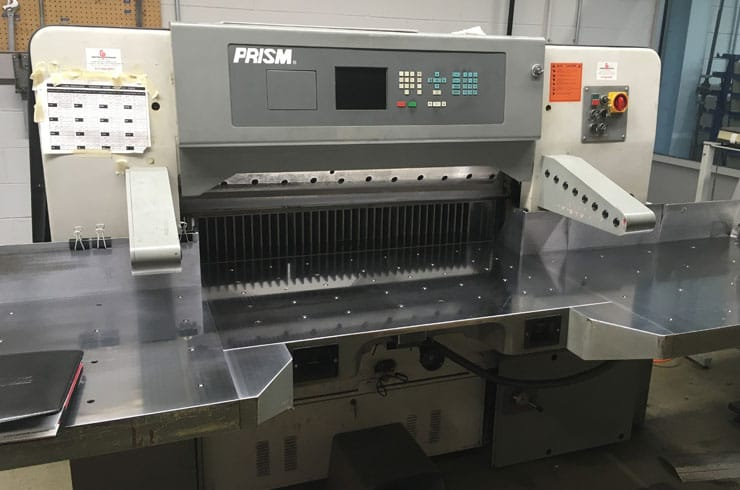 "Used Prism 45"" 115 Paper Cutter Machine"