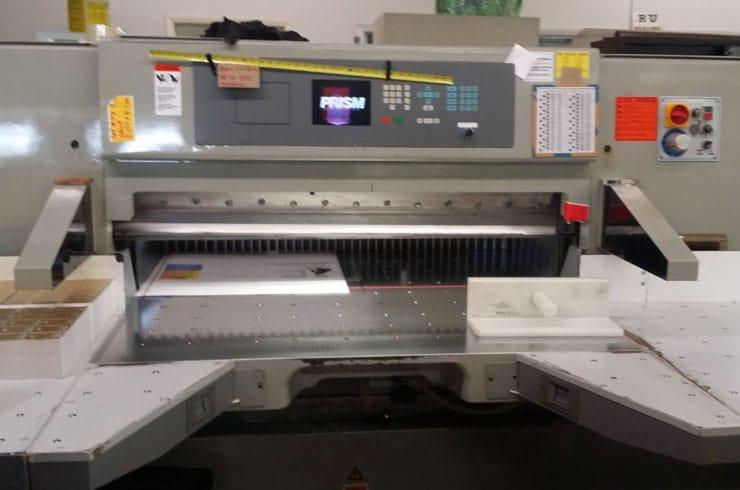 "Reconditioned Prism 54"" 137 Paper Cutter Machine"