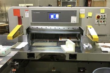 """Used 45"""" Prism Paper Cutter 115 Machine"""