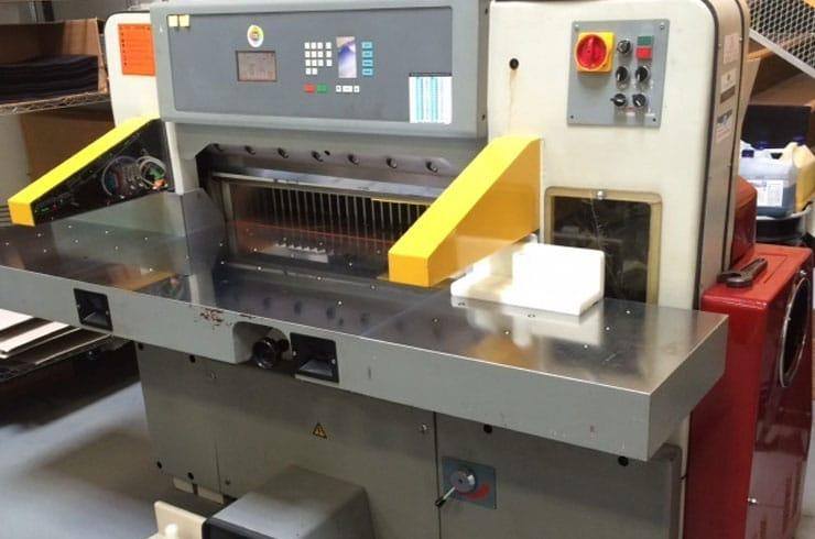 "Reconditioned Prism 36"" 92 Paper Cutter Machine"