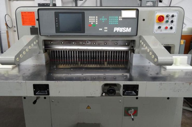 "Used Prism 36"" 92 Paper Cutter Machine"