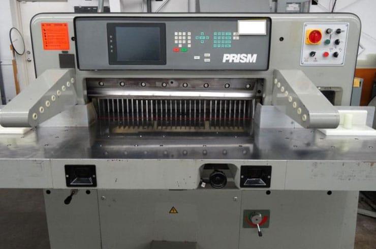 """Used Prism 36"""" 92 Paper Cutter Machine"""
