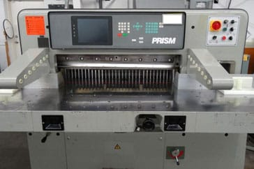 "Used 36"" Prism Paper Cutter 92 Machine"