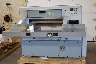"Used 36"" Prism Paper Cutter 92 Digital Machine"