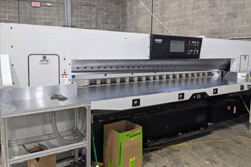 "Used 141"" Saber Paper Cutter 360 XT-Plus Machine"