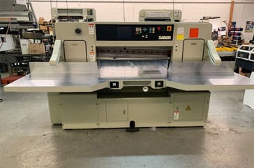 "Used 45"" Saber Paper Cutter 116S Machine"