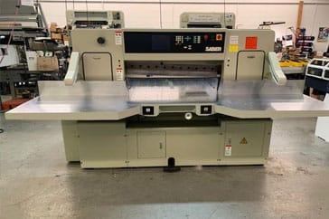 """Used 45"""" Saber Paper Cutter 116S Machine"""
