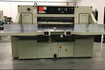 """Used 45"""" Saber Paper Cutter 115 Machine"""