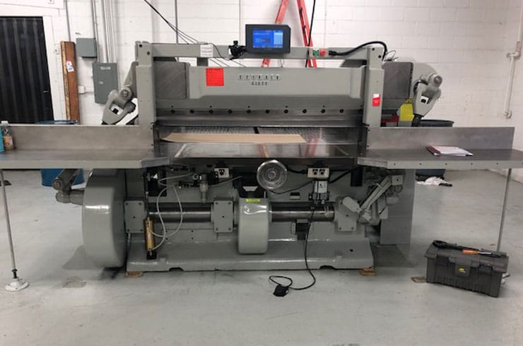 "Used Harris Seybold 65"" CF Paper Cutter Machine"