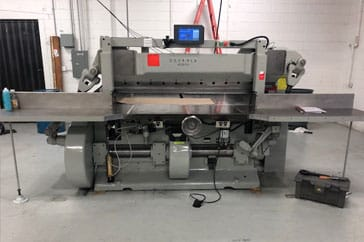 "Used 65"" Harris Seybold Paper Cutter CF Machine"