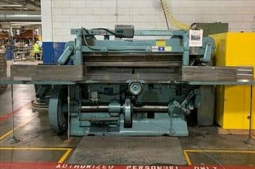 """Used 75"""" Harris Seybold Paper Cutter 75 10Z  Machine"""