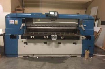 """Used 85""""  Paper Cutter CJ Full Hydraulic Machine"""