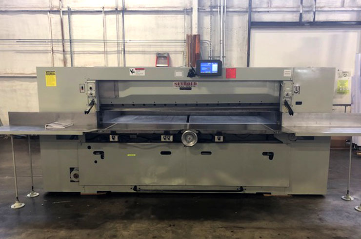 "Used Harris Seybold 100"" 100 CJ Paper Cutter Machine"