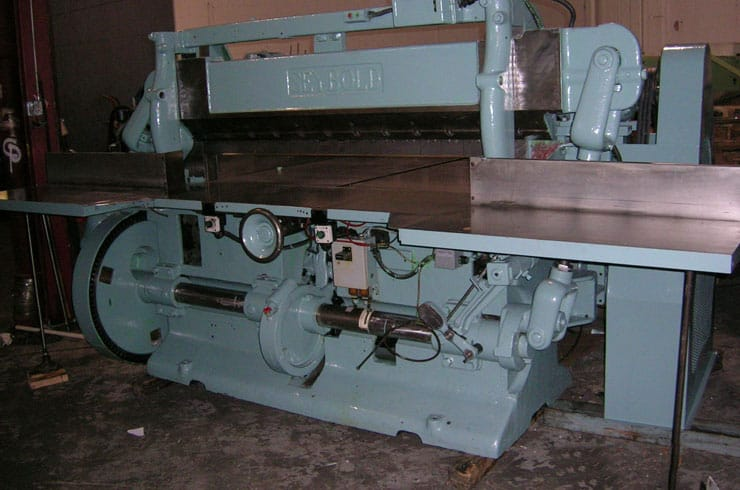 "Used Harris Seybold 65"" 65 12Z Paper Cutter Machine"