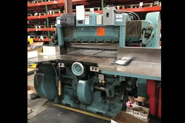 "Used 45"" Harris Seybold Paper Cutter CF Machine"