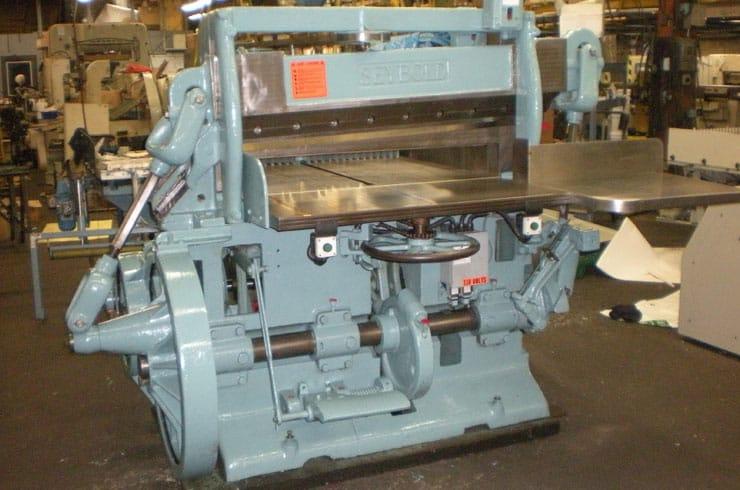 "Used 41"" Harris Seybold Paper Cutter 41 10ZB Machine"