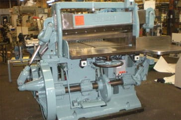 "Used Harris Seybold 41"" 41 10ZB Paper Cutter Machine"