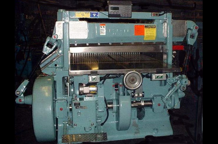 "Used Harris Seybold 51"" 51 CF Paper Cutter Machine"