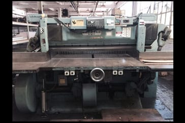 "Used 65"" Harris Seybold Paper Cutter 65 CF Machine"