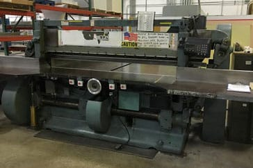 "Used 85"" Harris Seybold Paper Cutter 85 CF Machine"