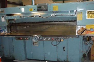 "Used 90"" Harris Seybold Paper Cutter 90 CMH Machine"