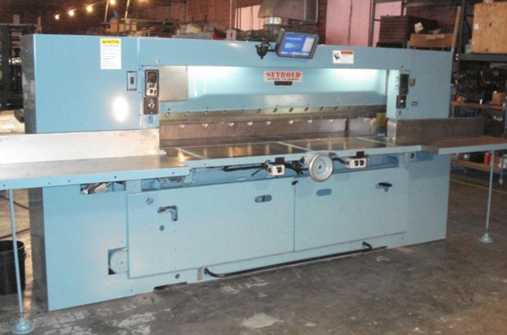 """Used Harris Seybold 100"""" 100 CJ Paper Cutter Machine"""