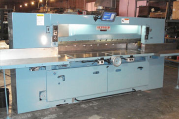 """Used 100"""" Harris Seybold Paper Cutter 100 CJ Machine"""