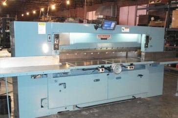 "Used 85"" Harris Seybold Paper Cutter 85 CJ Machine"