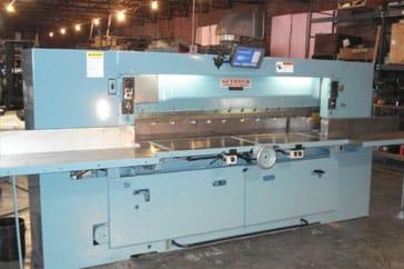 """Reconditioned 85"""" Seybold Paper Cutter 85 CJ Machine"""