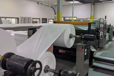 "Used 55"" SHM Sheeter 1400 DK Machine"