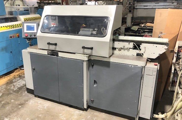 "Used Stahl 15"" VBF Three-Knife Trimmer Machine"