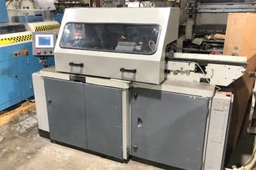 "Used 15"" Stahl Three-Knife Trimmer VBF Machine"