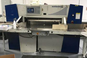 """Used 45"""" Wohlenberg Paper Cutter 115 Cut Tec Machine"""