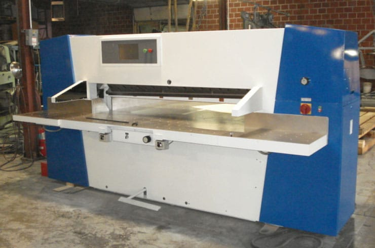"Used Wohlenberg 54"" 137 Cut Tec Paper Cutter Machine"
