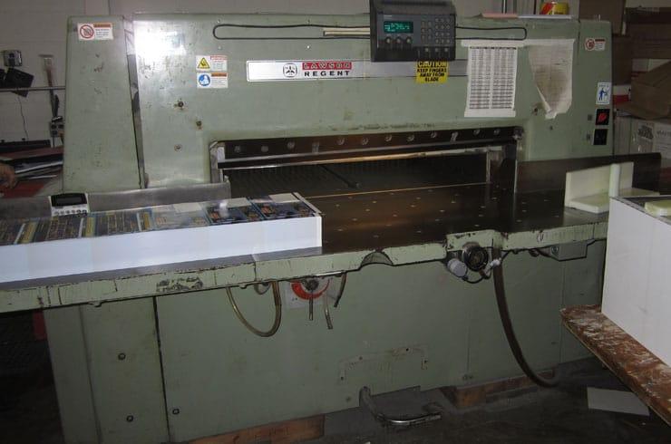 "Used Wohlenberg 45"" Regent Paper Cutter Machine"