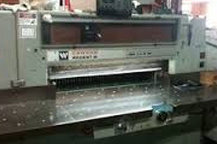 "Used Wohlenberg 36"" 92 Regent Paper Cutter Machine"