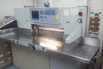 """Used 36"""" Wohlenberg Paper Cutter 92 cut tec Machine"""