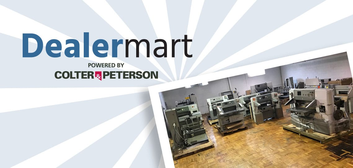 Dealermart discount paper cutters and paper handlers