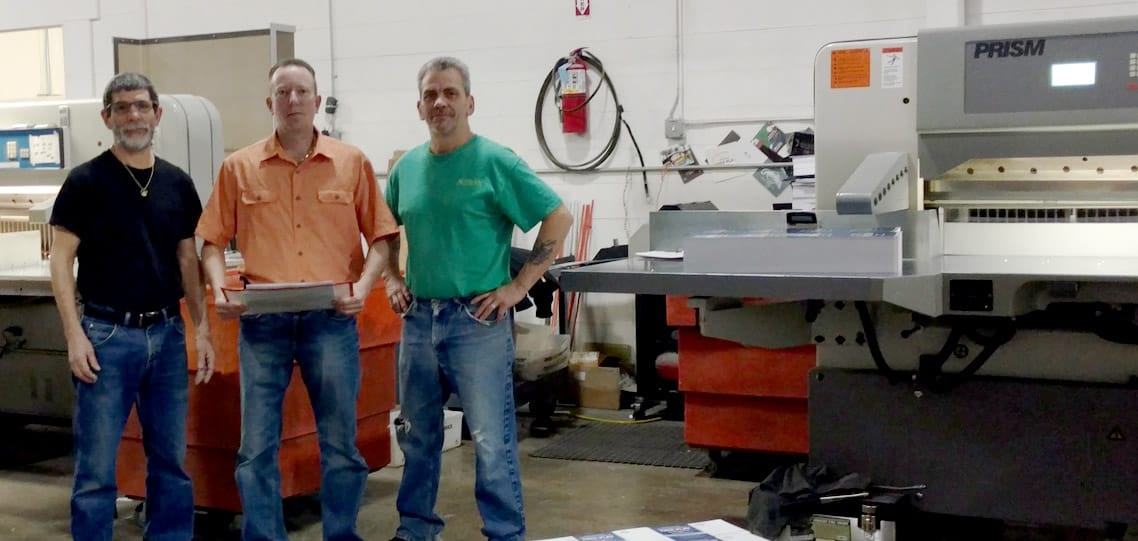 PRISM heavy duty paper cutter for plexiglas