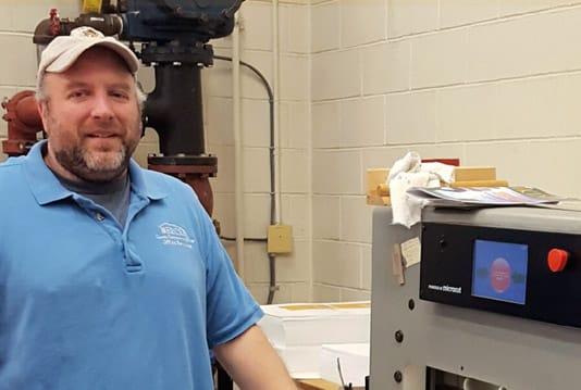 Rebuilt Challenge industrial paper cutter