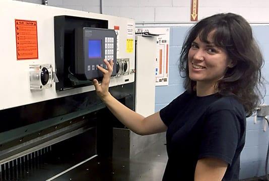 Rebuilt Dexter Lawson heavy duty paper cutter