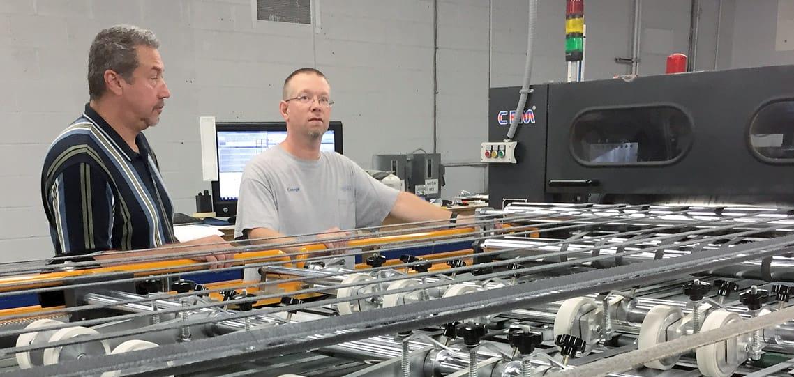 CHM 1700 paper sheeter trim litho labels