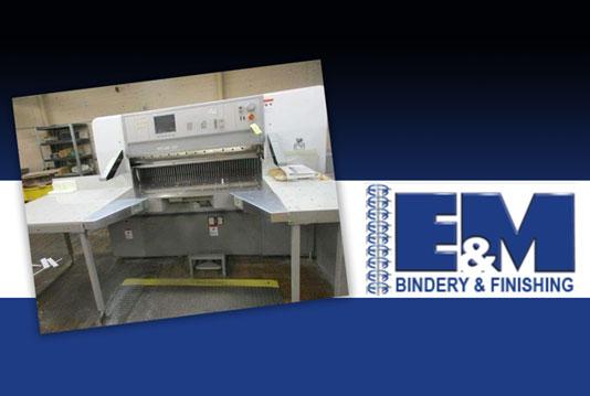 54 inch Polar paper cutter