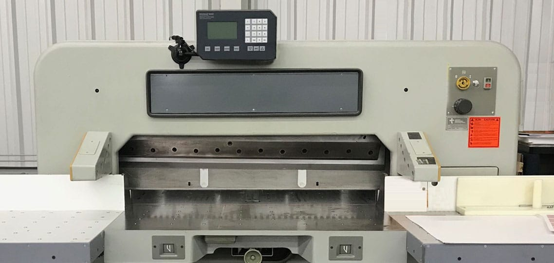 Photo of a Certified Used Polar Paper Cutter