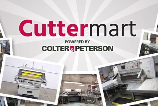 Cuttermart service allows customers to purchase new, rebuilt or pre-certified paper cutters
