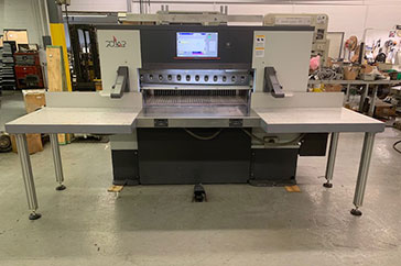 "Used 45"" Polar Paper Cutter D 115 Plus Machine"